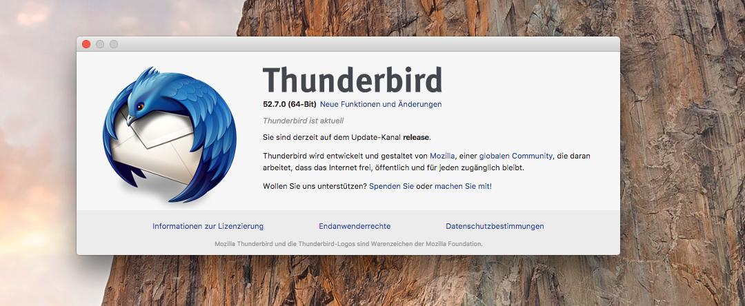 IMAP-Account einrichten unter Thunderbird
